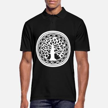 Wiking Yggdrasil Nordic Wiking Vikingwe Tree of Life - Men's Polo Shirt