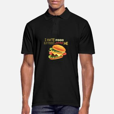 Fast Fast food fast food burger adore les gourmets - Polo Homme