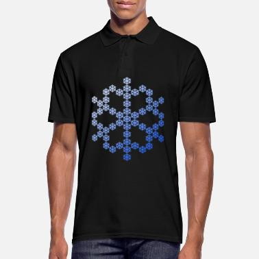 Flocon De Neige Flocon de neige de flocon de neige - Polo Homme