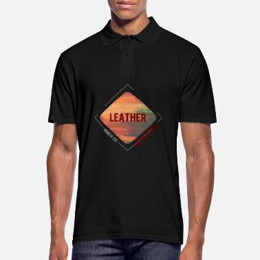 Leather Leather - Men's Polo Shirt