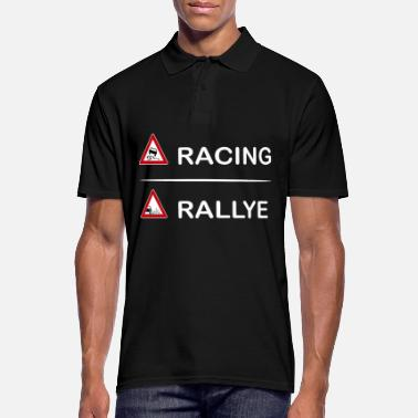 Rally Racing rally - Men's Polo Shirt