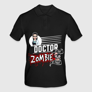 Female Doctor - Zombie by night - Men's Polo Shirt