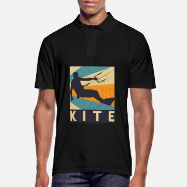 Kiteboard kitesurfing - Men's Polo Shirt