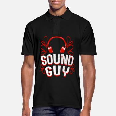 Sound Sound Engineer Sound Engineer Sound Sound Guy Gift - Polo uomo