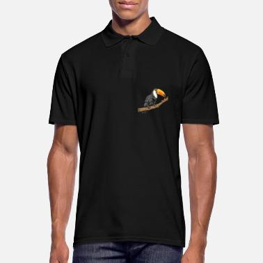 Toucan Costa Rica Tucan Tropical Bird Caribbean Motif - Camiseta polo hombre