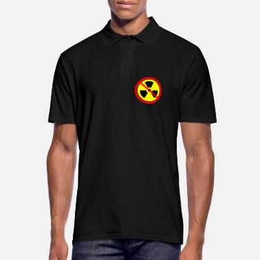 Anti Nuclear Power Anti nuclear power Castor nuclear power plants Gorleben demo - Men's Polo Shirt