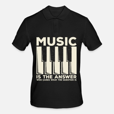 Piano Piano music - Men's Polo Shirt