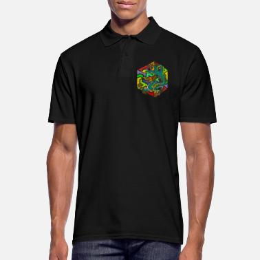 Mythologie Mythologie Dragon - Mannen poloshirt