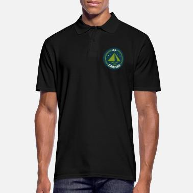 Tent Tent tents campers - Men's Polo Shirt