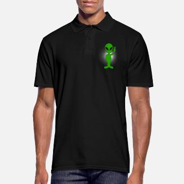 Hippie Alien Peace Alien - Polo Homme