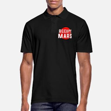 Occupy Occupy Mars - Men's Polo Shirt