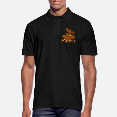 Moose Moose Moose - Men's Polo Shirt