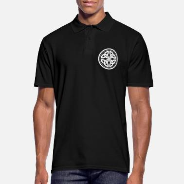 Knotted Irish knot knot pattern gift - Men's Polo Shirt