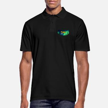 Rocket Rocket Space UFO Alien Space Galaxy - Men's Polo Shirt