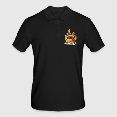 Grill Instructor Grill Instructor Barbecue - Männer Poloshirt