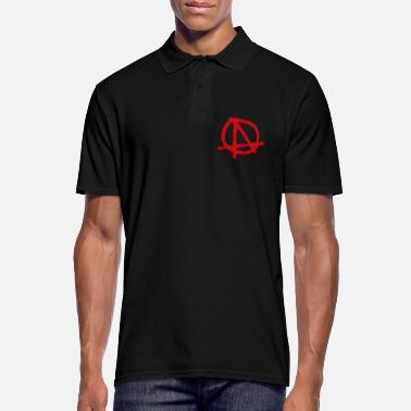 Chaos ANARCHY CHAOS PUNK NIHILISM ANTIFA CADEAUX - Polo Homme