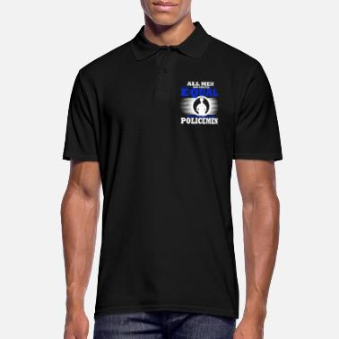 Official Person Police Policeman Policewoman Handcuffed Occupation - Men's Polo Shirt