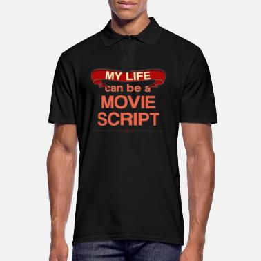 Movie script - Men's Polo Shirt
