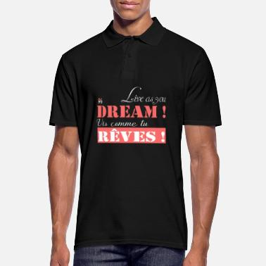Bliss Live as you dream - Men's Polo Shirt
