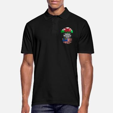 Welsh Welsh Grown With Malaysian Roots - Men's Polo Shirt