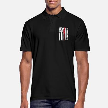 Airsoft American Airsoft & Airsoft Sports - Men's Polo Shirt