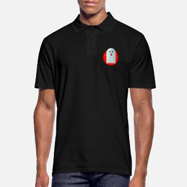 Ghost Ghost Ghost Ghost Halloween - Men's Polo Shirt