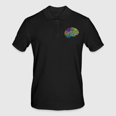 The regions of the brain - Men's Polo Shirt