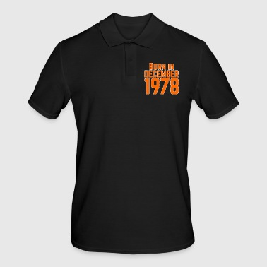 Born Born in December 1978 - Men's Polo Shirt