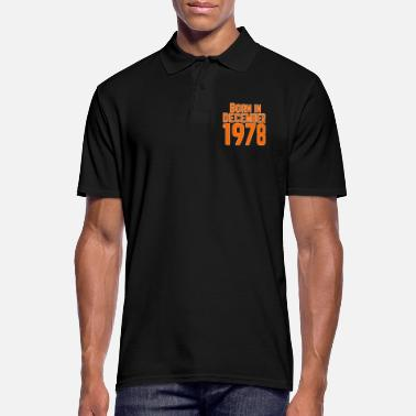 Date Born in December 1978 - Men's Polo Shirt