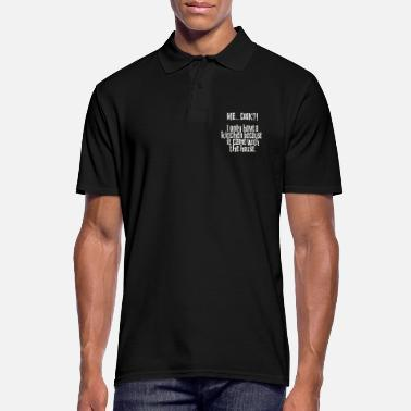 Chef-kok Me Cook Kitchen kwam met The House Funny Cook - Mannen poloshirt