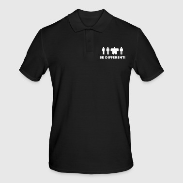 Be different man - Männer Poloshirt