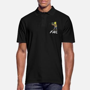 Hits Marker hit paintball lost hit - Men's Polo Shirt