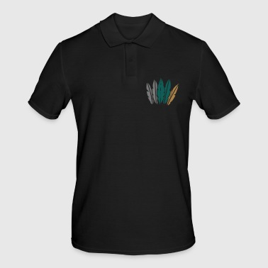 Jewelry feather jewelry - Men's Polo Shirt