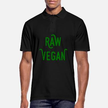 Raw raw vegan - raw vegan - Men's Polo Shirt