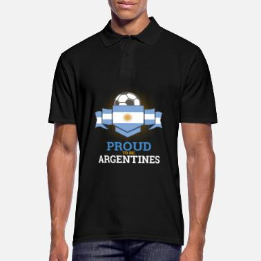 Soccer Football Argentins Argentine Équipe de football Sports - Polo Homme