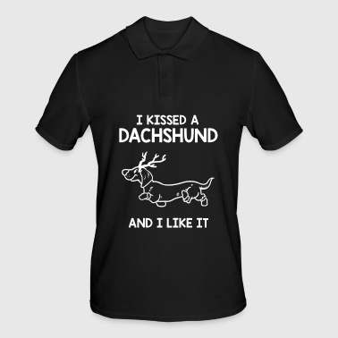 Hunting Dachshund dog - Men's Polo Shirt