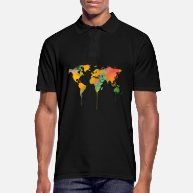 Map map of the world - Men's Polo Shirt