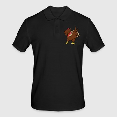 Dabbing Dab Thanksgiving Thanksgiving kalkoen - Mannen poloshirt