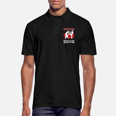 Krav Maga Melee Self-Defense Martial Arts - Men's Polo Shirt