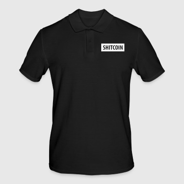 SHITCOIN - Bitcoin crypto blockchain - Men's Polo Shirt
