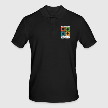 Son Mau Mau King Playing Cards Card Game Gift - Men's Polo Shirt