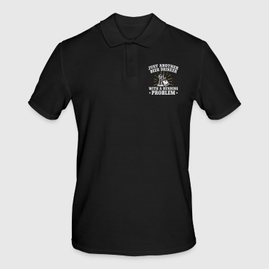 Drink beer with a running problem - Men's Polo Shirt