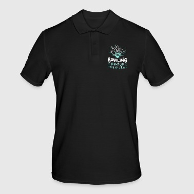 Bowling Right Up My Alley Gift - Men's Polo Shirt