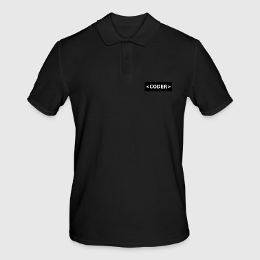 CODER - Men's Polo Shirt
