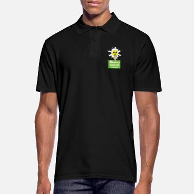 Nuclear Against nuclear power and nuclear energy for nuclear phase-out - Men's Polo Shirt