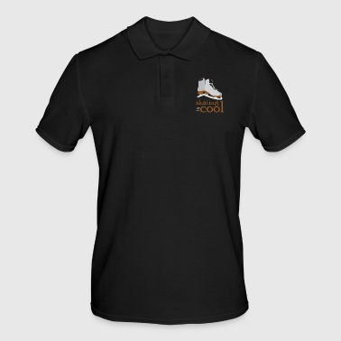 Ice Skating Ice Skating Ice Skates Skate - Men's Polo Shirt