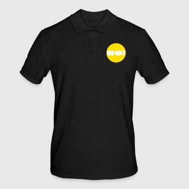 Point, Yellow, answer, reply, question, dot, nerd - Men's Polo Shirt