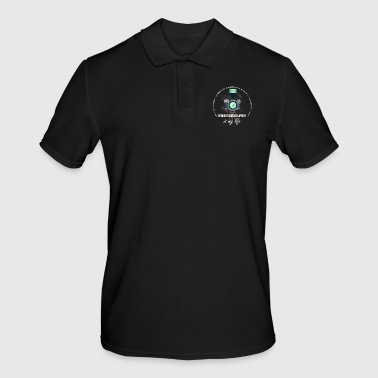 Photography is my life - photography is my life - Men's Polo Shirt