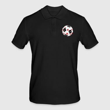 Football Poland Football Footballer Polska Football Footballer - Men's Polo Shirt