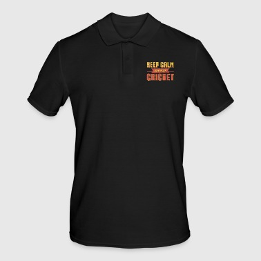 Cricket - Men's Polo Shirt